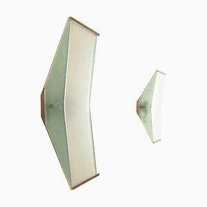 Model No. 2135 Sconces by Fontana Arte, 1960s, Set of 2
