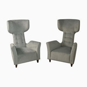 Armchairs Attributed Franco Campi & Carlo Graffi Italy, 1950