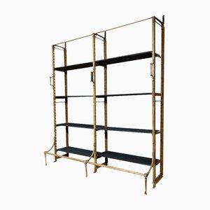 Industrial Blue Slate Shelves