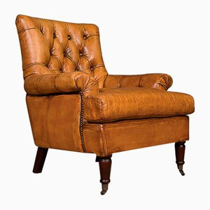 Henley Tan Club Chair