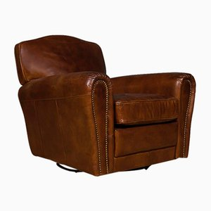 St Germain Leather Club Chair