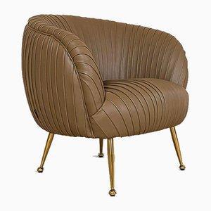 The Monaco Leather Tub Chair