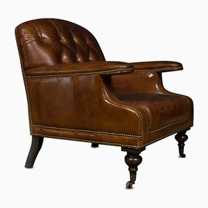 The Belvedere Leather Armchair