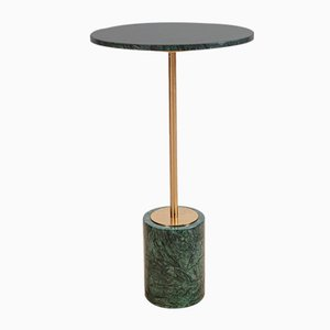Green Madrid Marble Side Table
