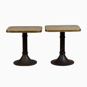 Brass Edge Bistro Table