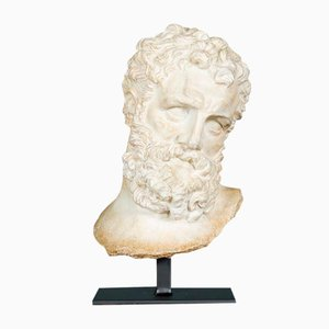 Hercules Bust on Stand