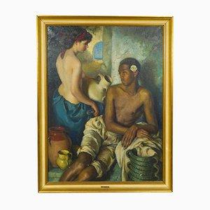 Francisco Ribera Gomez, Pintura al óleo