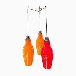 Italienische Kaskaden-Deckenlampe von Vistosi, 1960er