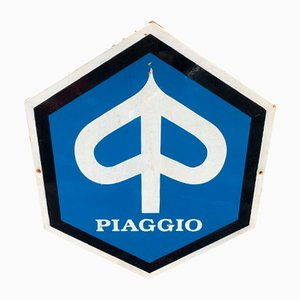 Sign from Piaggio, 1960s