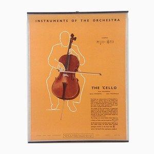 The Cello Poster, 1950s