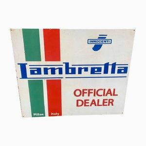 Sign from Lambretta Innocenti, 1970s