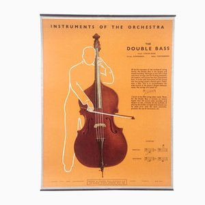 The Double Bass Poster, 1950s