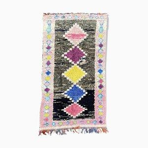 Berber Boucherouite Carpet, 1980s