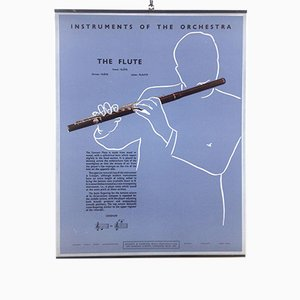 The Flute Poster, 1950s