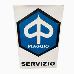 Sign from Piaggio, 1970s