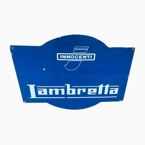 Sign from Lambretta Innocenti, 1970s