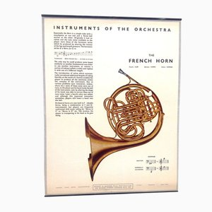 The Clarinet Poster, 1950s