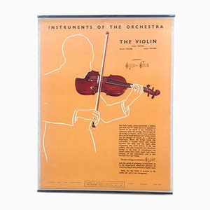 The Violin Poster, 1950s