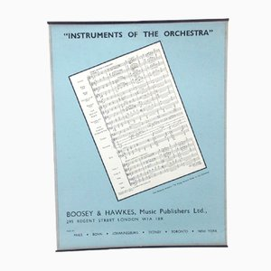 The Music Paper Poster, 1950s