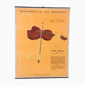 The Viola Poster, 1950s