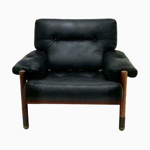 Rosewood Lounge Chair by Carlo De Carli for Luigi Sormani, 1966