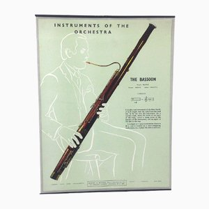 The Bassoon Poster, 1950s