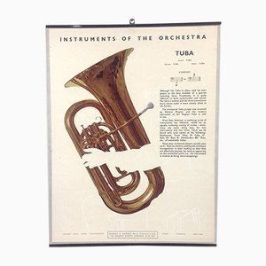The Tuba Poster, 1950s