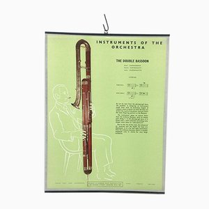 The Double Bassoon Poster, 1950s