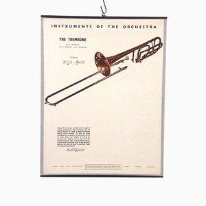 The Trombone Poster, 1950s