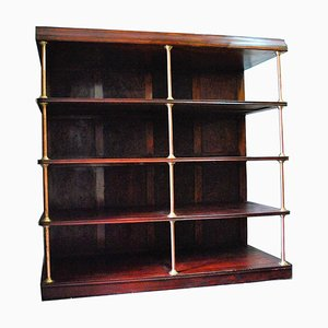 Antique Mahogany Wall Unit