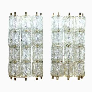 Wall Lamps by Barovier & Toso, 1960s, Set of 2
