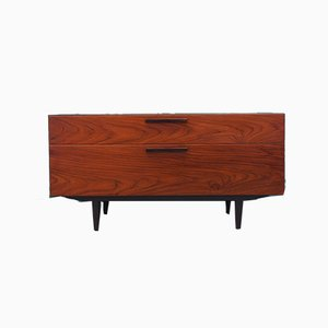 Danish Rosewood Chest of Drawers by Ib Kofod Larsen for Faarup Møbelfabrik, 1970s