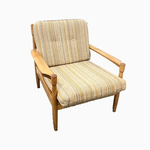 Mid-Century German Wood Easy Chair, 1960s