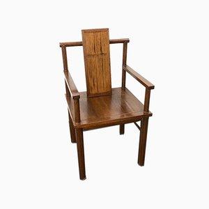 Deutscher Vintage Schreibtisch oder Armlehnstuhl aus Holz, 1930er