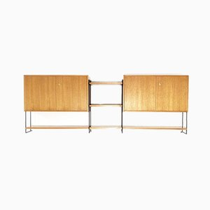 Mid-Century Modular Mid-Century String Shelf by Hilker for Omnia, 1960s