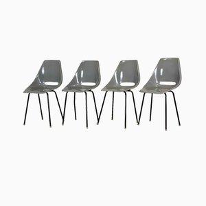 Fiberglas Stühle von Miroslav Navratil für Vertex, 1960er, 4er Set