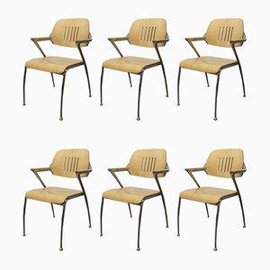 Modell Golf Esszimmerstühle von Francesco Zaccone für Brunner, 1990er, 6er Set