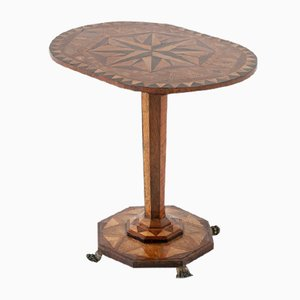 19th-Century Wood Occasional Table
