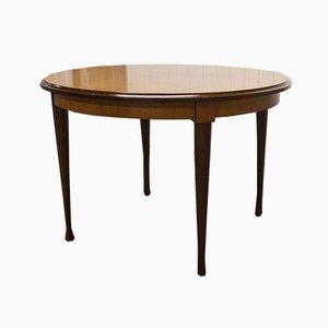Scandinavian Round Teak Table, 1960s