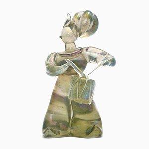 Klotz Figurine von Seguso Vetri d'Arte, 1930er