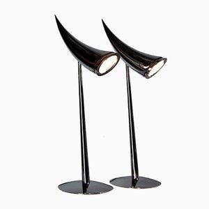 Ara Tischlampen von Philippe Starck für Flos, 1988, 2er Set