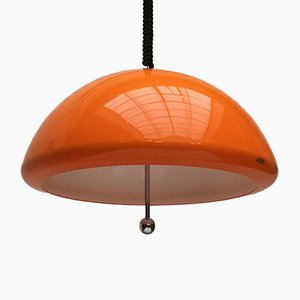 Space Age Cabras Pendant Lamp by Luigi Massoni for Guzzini