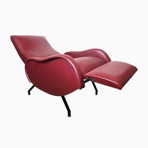 Italian Lounge Chair by Marco Zanuso, 1950s