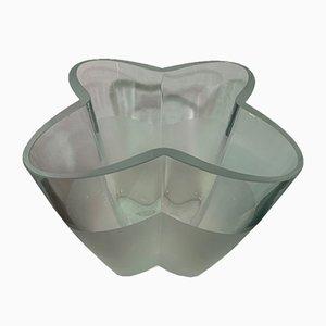 Glass Flower-Shaped Bowl, 1970s