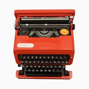 Valentine Schreibmaschine von Ettore Sottsass für Olivetti, 1960er