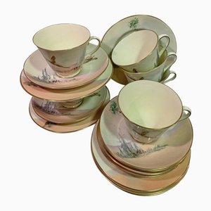 Vintage Tea Set from Royal Doulton, Set of 18