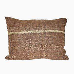 Handmade Anatolian Kilim Lumbar Cushion Cover