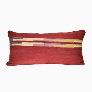 Striped Turkish Kilim Cushion Cover