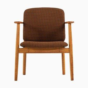 Dänischer Sessel von Børge Mogensen für Søborg Møbelfabrik, 1950er