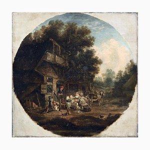 Peinture Néerlandaise d'après Adrian Ostade, 1600s